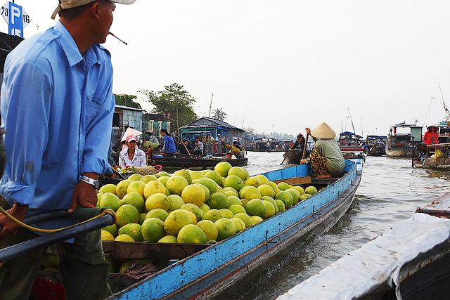 Chợ nổi là điểm du lịch hấp dẫn của Cần Thơ được du khách Đà Nẵng và miền Trung mong muốn ghé đến